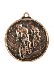 1073-14B Bronze Cycling Medal 50mm