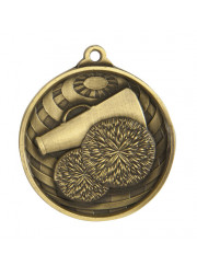1073-22G Gold Cheer Medal 50mm