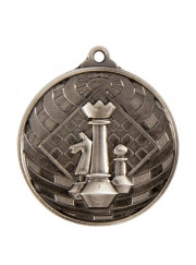 1073-43S Silver Chess Medal 50mm