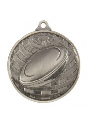 1073-6S Silver Rugby Medal 50mm