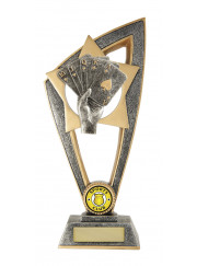 10B-CF54G Poker / Cards Trophy 20cm