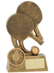 11266A Table Tennis Trophy 12cm