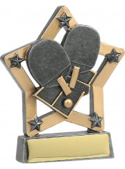 12966 Table Tennis Trophy 13cm
