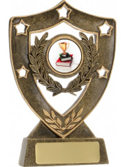 13500 Star Shield Trophy 13.5cm