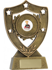 13600 Star Shield Trophy 15.5cm