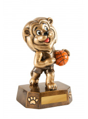 318-7 Basketball Trophy 12.5cm