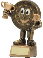 A1138A Darts Man Trophy 13cm