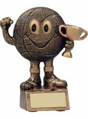 A1160A Basketball Man Trophy 12cm