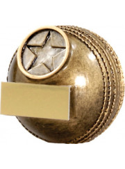 A1332B Cricket Ball Trophy 6cm