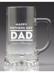 G140 Fathers Day Beer Tankard - Pint 500ml