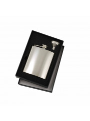 FSK11 Stainless Steel Hip Flask Set 180ml
