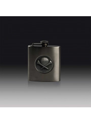 FSK17 Stainless Steel Golf Hip Flask 180ml