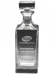 GD03 Glass Decanter 870ml