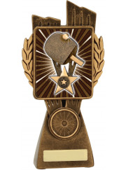 LR066B Table Tennis Trophy 17.5cm
