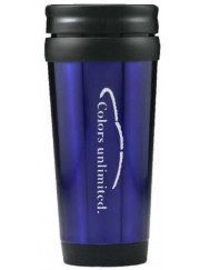 LTM013 Blue Travel Mug 410ml