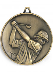 M9309 Gold Golf Medal 62mm