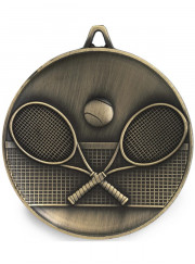 M9318 Gold Tennis Medal 62mm