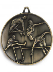 M9358 Gold Track and Field Male Medal 62mm
