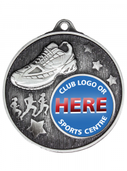 MC625S Cross Country Silver Medal 50mm