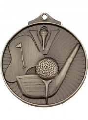 MD909S Silver Golf Medal 52mm