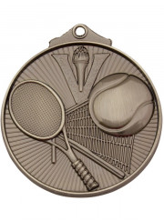 MD918S Silver Tennis Medal 52mm