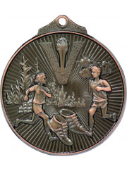MD925B Bronze Cross Country Medal 52mm