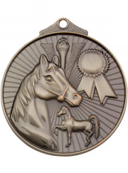 MD935S Silver Equestrian Medal 52mm