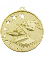 MH905G Gold Education Medal 52mm