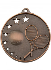 MH918B Bronze Tennis Medal 52mm