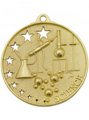 MH919G Gold Science Medal 52mm