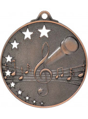 MH921B Bronze Music Medal 52mm