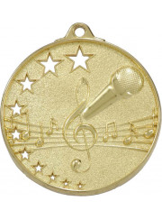 MH921G Gold Music Medal 52mm