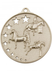 MH935S Silver Equestrian Medal 52mm