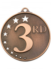 MH953B Bronze Third Place Medal 52mm