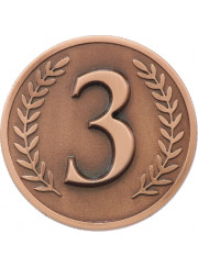 MJ03B Bronze Third Place Coin 60mm