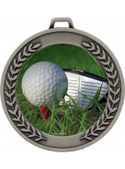 MJ50S Silver Golf Medal 64mm