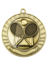 MMY218G Gold Tennis Medal 70mm