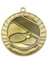 MMY266G Gold Table Tennis Medal 70mm