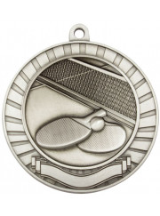 MMY266S Silver Table Tennis Medal 70mm
