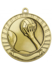 MMY270G Gold Water Polo Medal 70mm