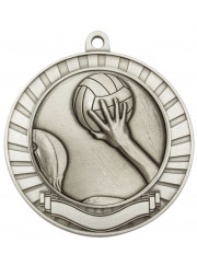 MMY270S Silver Water Polo Medal 70mm