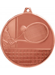 MZ918B Bronze Tennis Medal 50mm