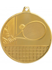 MZ918G Gold Tennis Medal 50mm