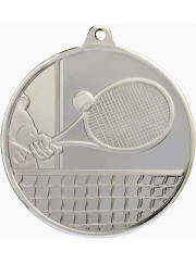 MZ918S Silver Tennis Medal 50mm