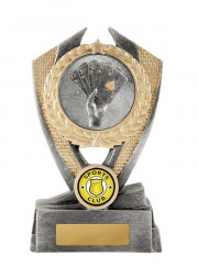 W18-3002 Cards / Poker Trophy 15cm