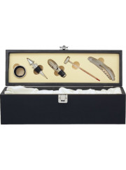 WBX13 Black Wine Gift Box with Tools