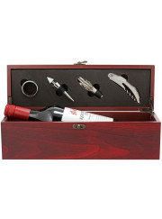 WBX15 Brown Wine Gift Box with Tools