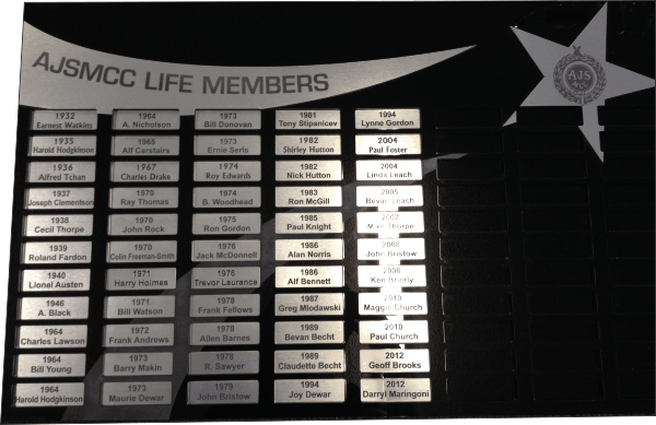 Acrylic Honour Board